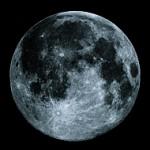 ブルームーン。31日金曜日はBlue Moon? Once in a Blue Moon = 珍しいこと