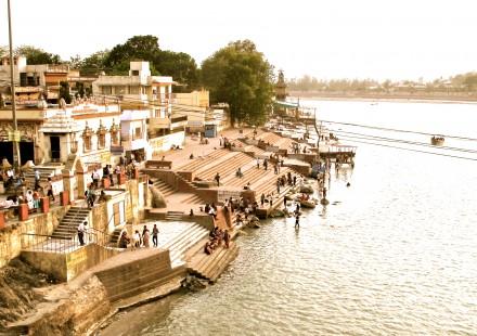 Rishikesh, northern India こうして見るとあんまり変わってない感じかなあ。