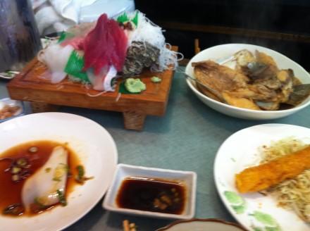 まだまだ出て来る美味しい魚料理