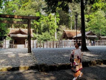 瀧原宮は、神宮125社の1つ。古代からの息吹が感じることができる。